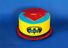 BATMAN VS SUPERMAN Birthday Cake PICTURES PHOTOS and IMAGES