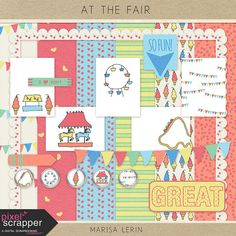 "FREE September Pixel Scrapper Blog Train - ""At the Fair"" By Marisa Lerin { Link will expire after Sept 30, 2014 }"