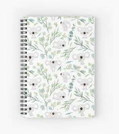 Cute koala pattern • Millions of unique designs by independent artists. Find your thing. Finding Yourself, Pattern, Spiral Notebooks, Cousins, Design, Artists, Unique, Gifts, Products