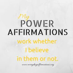 Affirmations For Fertility, Daily Affirmations 2014, Daily Affirmations