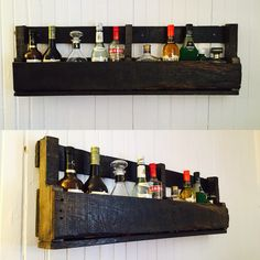 Rustic pallet Wine Rack, Pallet, Homemade, Rustic, Storage, Furniture, Home Decor, Chill Room, Country Primitive