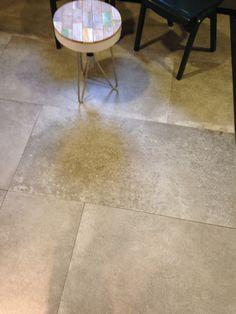Unieke betonlook in onze showroom