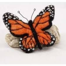 Image result for needle felted butterfly