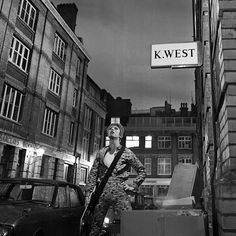 Bowie in Heddon Street. Borrowed from DB's Facebook page