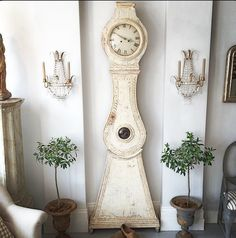 Mora clock - love!  Georgia Lacey Antiques.
