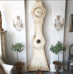 Mora clock - love! Georgia Lacey Antiques.