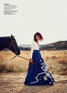 The New Blues (Glamour Magazine U.S.)