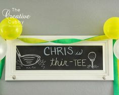 Adult Golf Party - The Creative Cubby