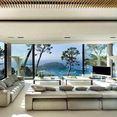Bayview #Villa in Côte dAzur by design_interior_homes