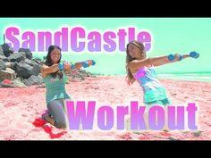 Sandcastle Workout!!!  Tone It Up  :) Tone the legs & core