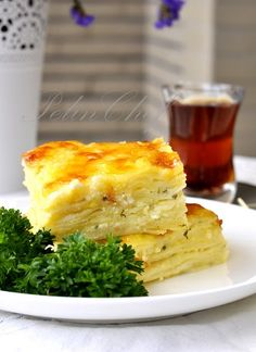 I love borek for breakfast! layers of pastry, cheese and spinach. Or any time of day :-)