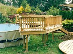 easy pool deck plans