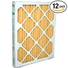Replacement filters for the SaniDry CX dehumidifier. Nominal measurement of filter is 15.75 x 10.25 x 1 inch. Actual measurement is 15.625 x 10.125 x .75 inches. MERV 11 rated, 65% efficient. Available from IAQ Living in packs of 12 or 6. These are after-market, custom-built filters MADE IN THE USA.