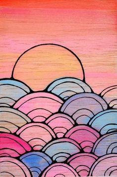 Searise Art Print ~ by Jeweling