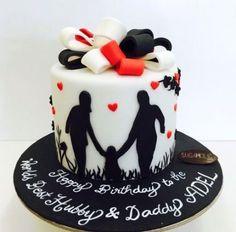 63 Trendy Birthday Cake For Husband Men Valentines Day – birthdaycakeideas 30th Birthday Cakes For Men, Birthday Surprise For Husband, Superhero Birthday Cake, Cake Birthday, Easy Chocolate Cupcake Recipe, Cake Design For Men, Bike Cakes, Dad Cake, Love Cake