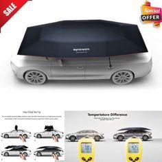 Foldaway Car Tent Sun Shade Carport Automatic Canopy Cover Car Umbrella + Remote #Mynew Sun Shade Canopy, Car Tent, Automatic Cars, Canopy Cover, Industrial Design, Remote, Store, Interior, Ebay