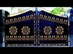 Iron Main Gate Design, Grill Gate Design, House Main Gates Design, Front Gate Design, Window Grill Design, Door Design, Modern Steel Gate Design, Steel Bed Design, Gate Designs Modern