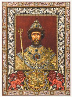 35 Tsar of all Rus' Boris Godunov ideas | russia, russian history, russian  art