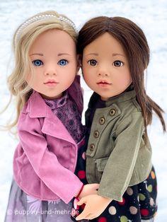 Sophia von Götz: Top oder Flop? - puppen und mehr Gotz Dolls, Knit Shoes, Cat Doll, Pretty Dolls, 18 Inch Doll, Little People, Doll Accessories, American Girl, Doll Clothes