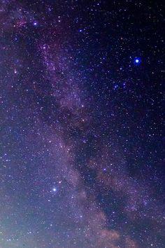 北海道から見た星空