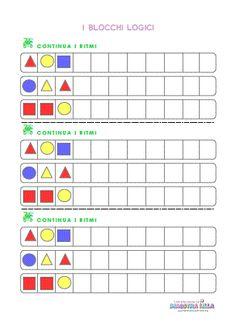 Schede didattiche matematica classe 1 della maestra Lilla