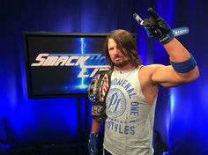 wwe defends the Championship against to kick off Wrestling Rules, Aj Styles Wwe, Ring Of Honor, Wwe Tna, Wwe Girls, Kevin Owens, Thing 1, Yesterday And Today, Now And Forever