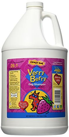 Crazy Dog Shampoo Verry Berry 1Gallon -- Check this awesome product by going to the link at the image.
