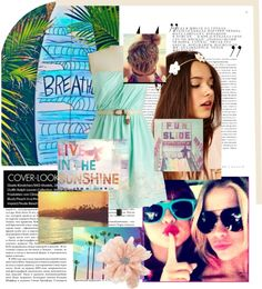 """""""Summer Beach"""" by chloerose-xox ❤ liked on Polyvore"""