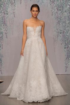 """All the Most Beautiful Princess Dresses From Bridal Fashion Week: For some brides, there is only one word that comes to mind when they think of their dream wedding day, and that word is """"princess."""""""