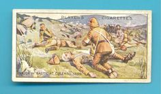 VICTORIA CROSS.No.24.CIGARETTE CARD ISSUED BY PLAYERS IN 1914.W.BABTIE RAMC