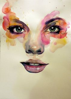 Beautiful watercolor portraits by Marion Bolognesi