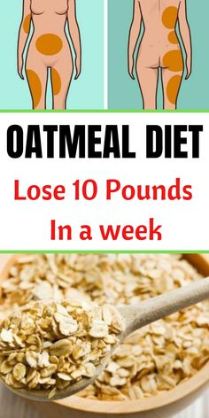 oatmeal diet plan is a balanced calorie diet that requires you to replace . oatmeal diet plan is a balanced calorie diet that . Weight Loss Meals, Weight Loss Program, Weight Loss Diets, Weight Watchers Diet Plan, Lose 10 Pounds In A Week, Losing 10 Pounds, 5 Pounds, Losing Weight, Weight Gain