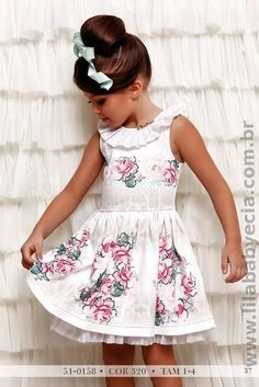 Vestido Infantil Miss Cake Doce Princesa 510158 - Lila Baby e Cia Moda Infantil
