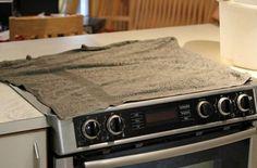 Har du en smutsig spishäll? Gör den skinande ren igen med dessa 5 fiffiga knep!