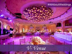 Picking a wedding venue can be a big deal. From the location and layout to the decor and lighting, it is important to consider all aspects of the venue to set the tone of your wedding. #AllAboutWeddings