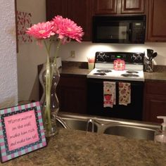 Our girly kitchen