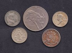 5 Nos. PHILIPPINES PILIPINAS Mixed Lot Coins Collection