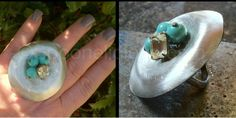 """A Robin's Nest """"Spoon"""" ring, created by Spoonelicious.com"""