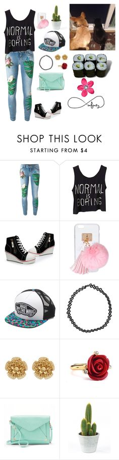 """Different (but still beautiful)"" by chloe-maus ❤ liked on Polyvore featuring Dolce&Gabbana, Ashlyn'd, Vans, Boohoo, Miriam Haskell, Oscar de la Renta, Apt. 9 and Jura"
