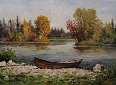 Oil in canvas. Decorating Your Home, Oil, Autumn, Landscape, Canvas, Painting, Ideas, Tela, Scenery