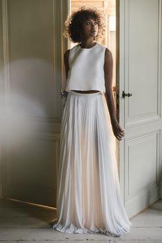 479bf9a83cd Valentine Avoh - Robes de mariée - Collection 2019 - Photos   Elodie  Timmermans - Blog mariage   La mariée aux pieds nus - la mariee aux pieds  nus