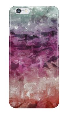 """Abstract art"" iPhone Cases & Skins by floraaplus 