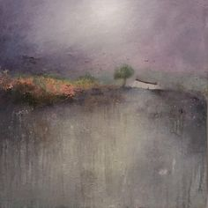 Buy original , contemporary Paintings from Lisa House on Affordable Art Fair Online Shop. Abstract Landscape Painting, Landscape Paintings, Landscapes, Affordable Art Fair, House Landscape, Mixed Media Canvas, Contemporary Paintings, House Painting, Lovers Art
