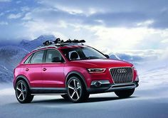 2018-2019 Audi Q3 Red Track – in any frost on the snowy roads
