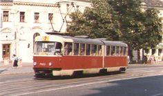 Bratislava subway metro and tramways