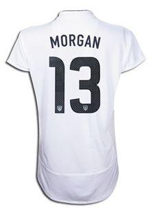 3e050fd9b Alex Morgan #13 Women's Centennial Nike Soccer Jersey: United States ...