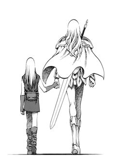 I guess I would always love fantasy-adventure stories with complex yet beautiful relationships between characters the most! Can't have enough of this heartbreaking relation Teresa and Clare both share!  Best manga/anime!