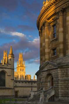 Radcliffe Camera and All Souls College, Oxford, England. © Brian Jannsen Photography