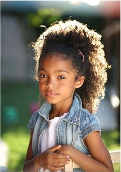 Natural Hair ...she is too cute <3
