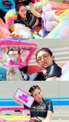 Jeon Somi, K Pop, South Korean Girls, Korean Girl Groups, Behind The Screen, Birthday Wallpaper, Blackpink And Bts, E Dawn, Ioi